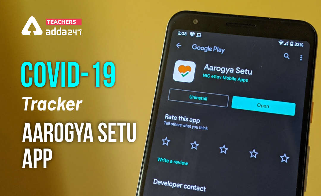 COVID - 19 Tracker AAROGYA SETU App